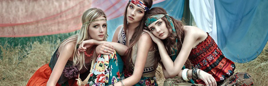 Hippie bohemian style  quand Talitha Getty inspire la collection été 2015